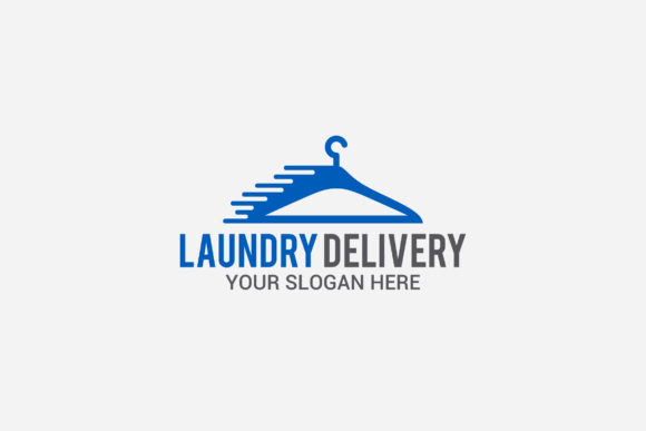 Laundry Delivery Logo Graphic By Shazdesigner Creative Fabrica