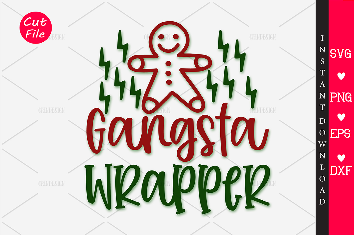 Download Free Gangsta Wrapper Graphic By Orindesign Creative Fabrica for Cricut Explore, Silhouette and other cutting machines.