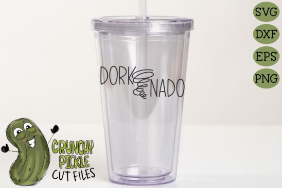 Dork-Nado Tornado Graphic Crafts By Crunchy Pickle - Image 4
