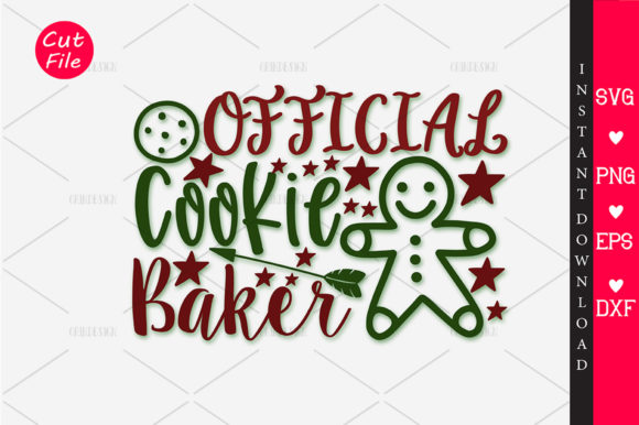Download Free Official Cookie Baker Svg Graphic By Orindesign Creative Fabrica for Cricut Explore, Silhouette and other cutting machines.