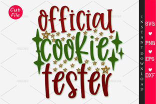 Print on Demand: Official Cookie Tester Graphic Crafts By OrinDesign
