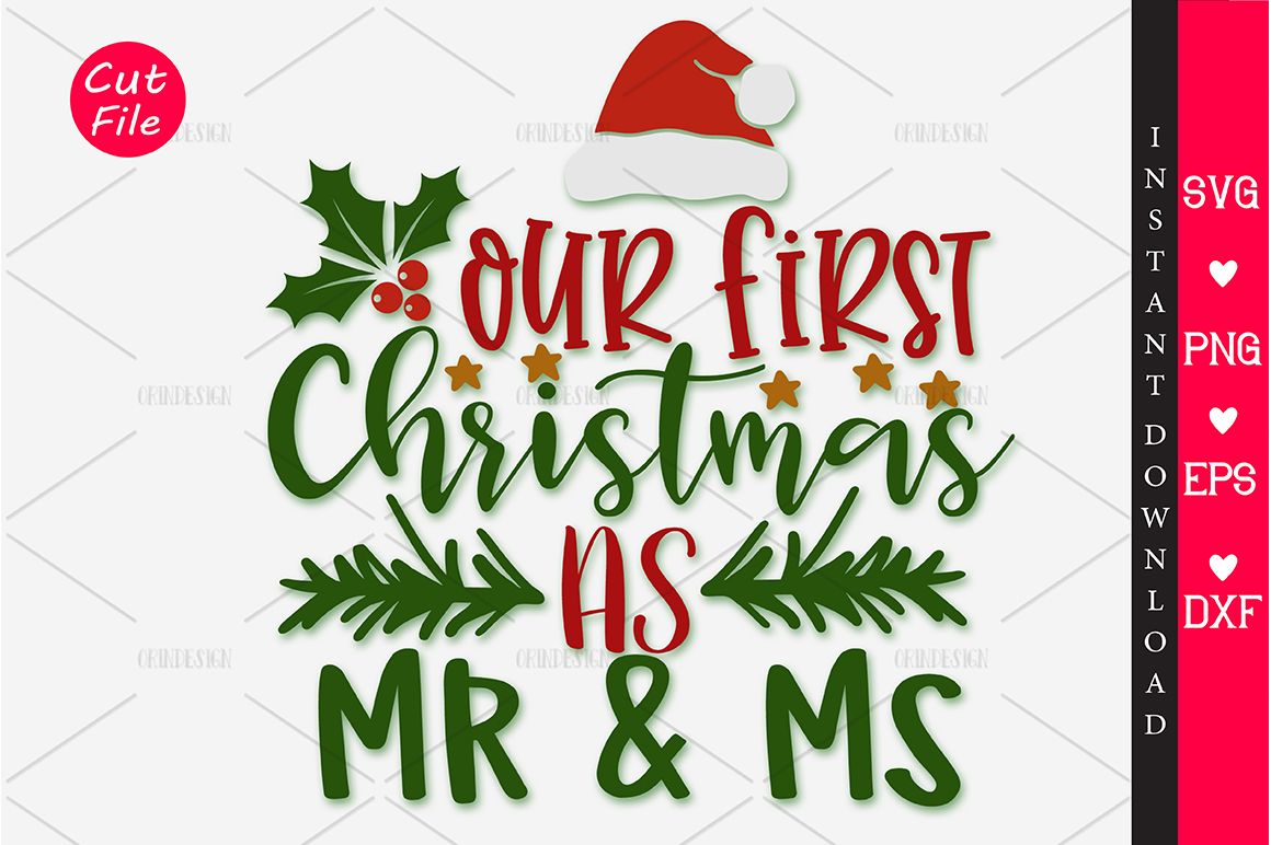 Our First Christmas Svg Graphic By Orindesign Creative Fabrica