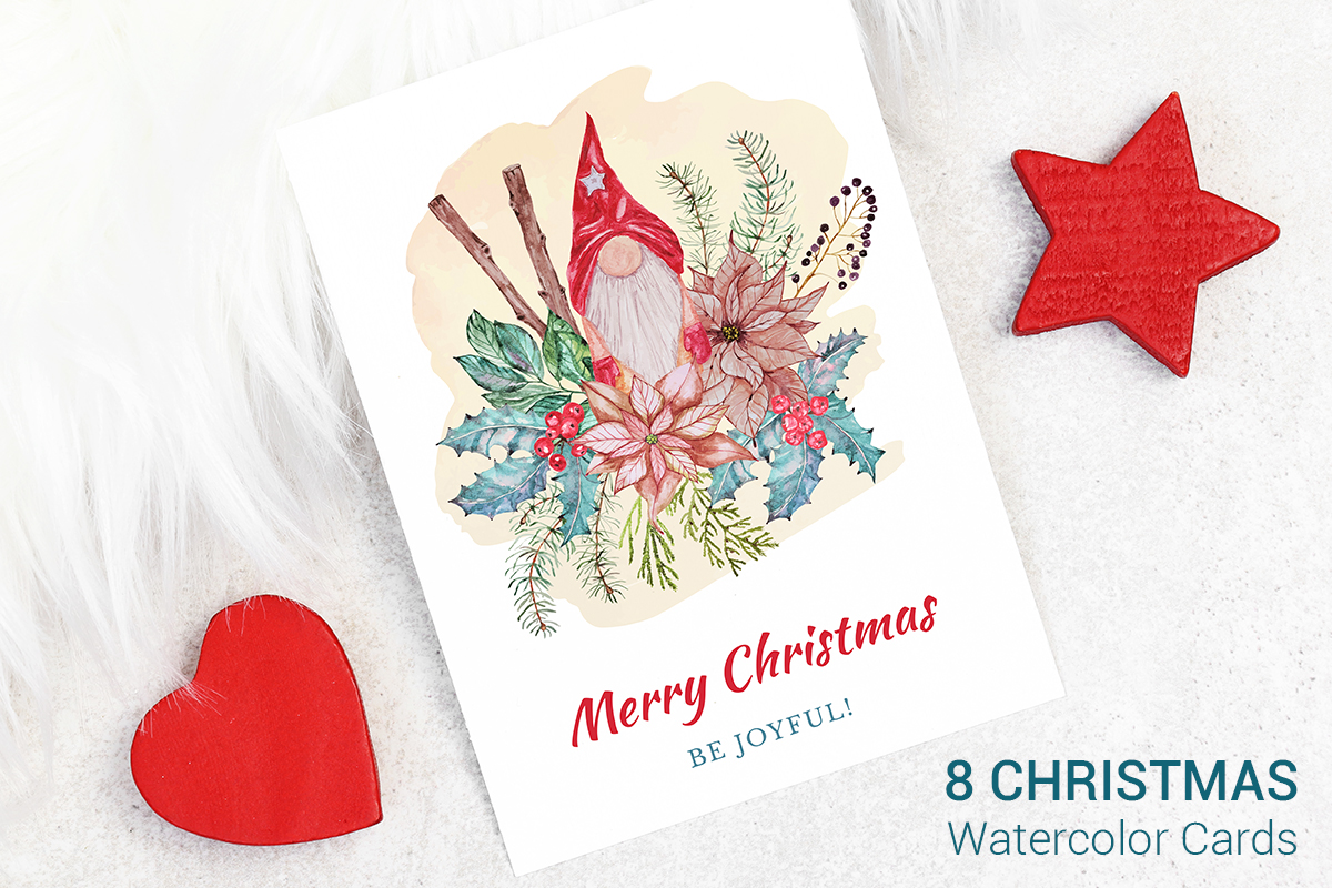Download Free Cards With Christmas Tree Graphic By Pawstudio Creative Fabrica for Cricut Explore, Silhouette and other cutting machines.