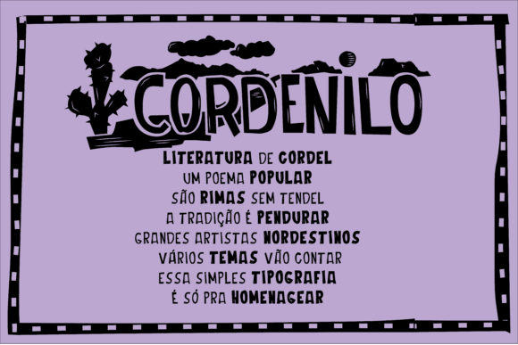 Print on Demand: Cordenilo Script & Handwritten Font By Danilo Miguel