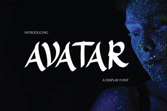 Print on Demand: Avatar Display Font By Eurus 99