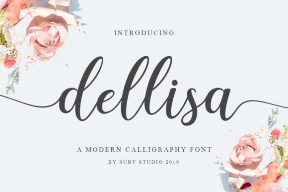 Print on Demand: Dellisa Script & Handwritten Font By Suby Store - Image 1