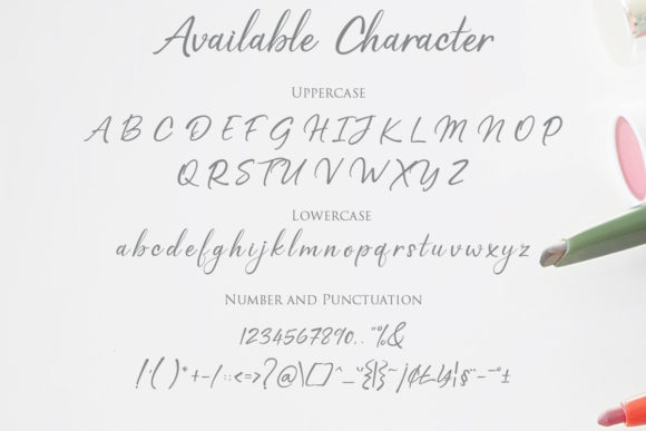 Print on Demand: Reality Script & Handwritten Font By Gilar Studio - Image 2