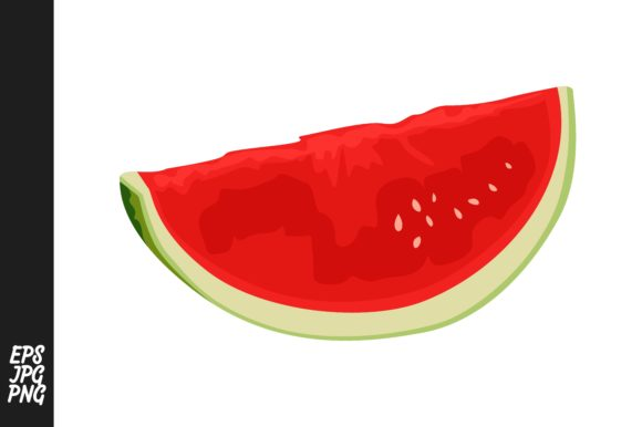 Print on Demand: Collection of Red Watermelons Graphic Crafts By Arief Sapta Adjie - Image 3