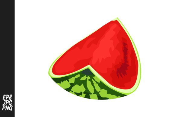 Print on Demand: Collection of Red Watermelons Graphic Crafts By Arief Sapta Adjie - Image 6