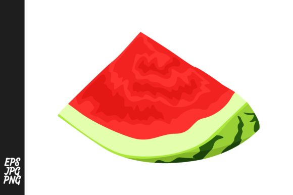Print on Demand: Collection of Red Watermelons Graphic Crafts By Arief Sapta Adjie - Image 8