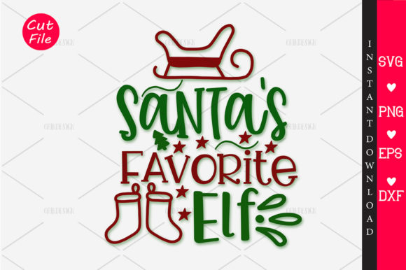 Download Free Santa S Favourit Elf Svg Graphic By Orindesign Creative Fabrica for Cricut Explore, Silhouette and other cutting machines.