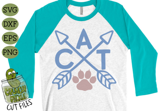 Cat Arrows Graphic Crafts By Crunchy Pickle