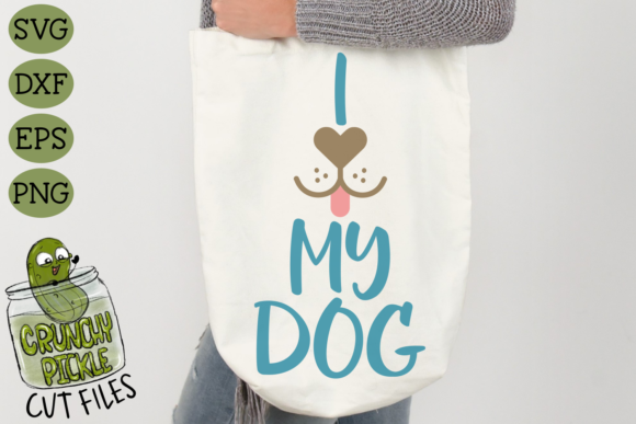 I Heart My Dog Graphic Crafts By Crunchy Pickle