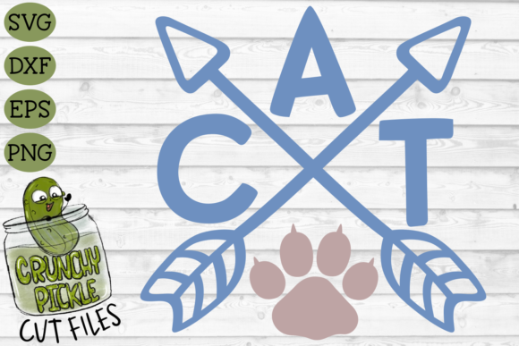 Cat Arrows Graphic Crafts By Crunchy Pickle - Image 2