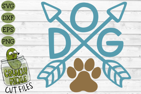 Dog Arrows Graphic Crafts By Crunchy Pickle - Image 2