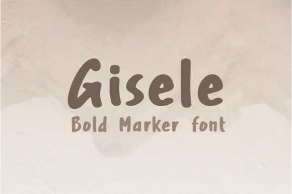 Print on Demand: Gisele Script & Handwritten Font By Cititype