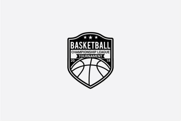 Print on Demand: Basketball Graphic Logos By shazdesigner