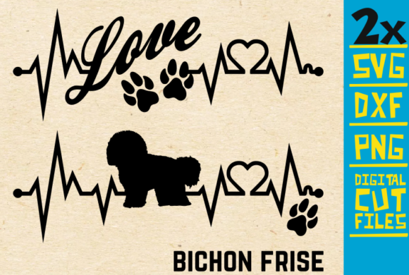 2x Bichon Frise Dog Bundle Svg Graphic By Svgyeahyouknowme Creative Fabrica