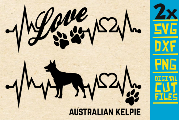 Download Free 2x Australian Kelpie Bundle Svg Graphic By Svgyeahyouknowme for Cricut Explore, Silhouette and other cutting machines.