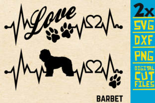Download Free 2x Barbet Dog Bundle Svg Graphic By Svgyeahyouknowme Creative for Cricut Explore, Silhouette and other cutting machines.