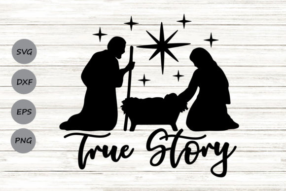 Print on Demand: True Story Graphic Crafts By CosmosFineArt