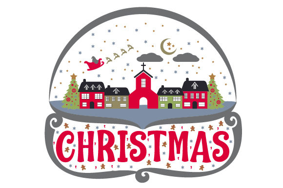 Download Free Christmas Snow Globe With Town Svg Cut File By Creative Fabrica for Cricut Explore, Silhouette and other cutting machines.