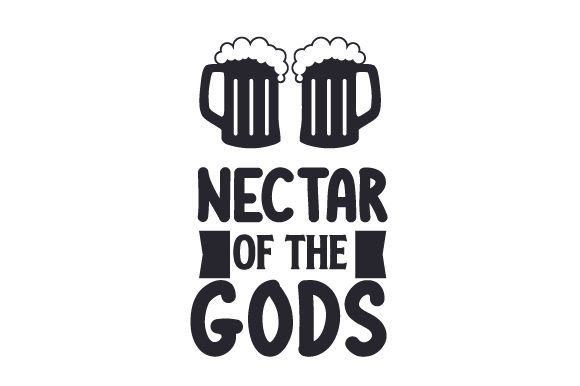 Download Free Nectar Of The Gods Svg Cut File By Creative Fabrica Crafts for Cricut Explore, Silhouette and other cutting machines.