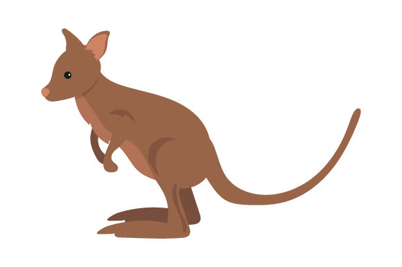 Download Free Wallaby Svg Cut File By Creative Fabrica Crafts Creative Fabrica for Cricut Explore, Silhouette and other cutting machines.