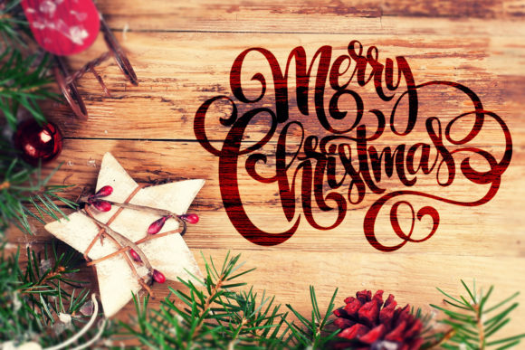 Print on Demand: Merry Christmas Graphic Crafts By roxysvg26 - Image 4