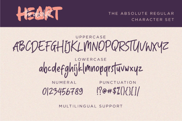 Print on Demand: The Absolute Display Font By Sigit Dwipa - Image 7
