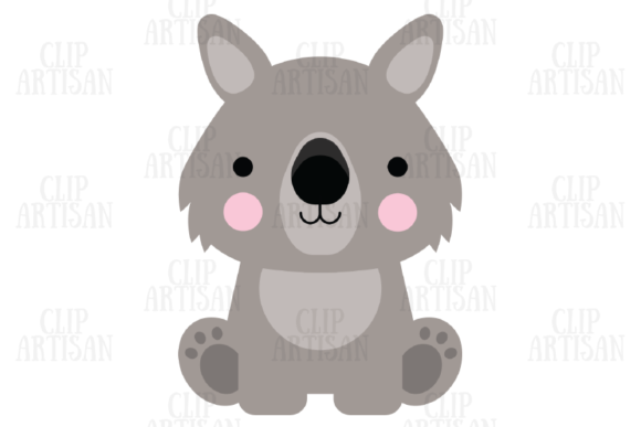 Australian Animals Clipart Kiwi Animals Graphic Illustrations By ClipArtisan - Image 2