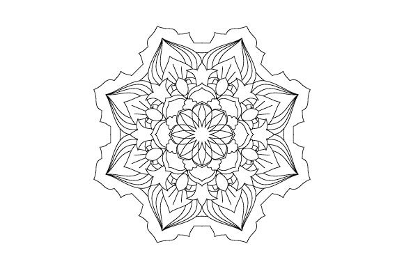 Print on Demand: 30 Mandala Coloring Pages Vector Bundle Graphic Coloring Pages & Books Adults By GraphicsFarm - Image 17