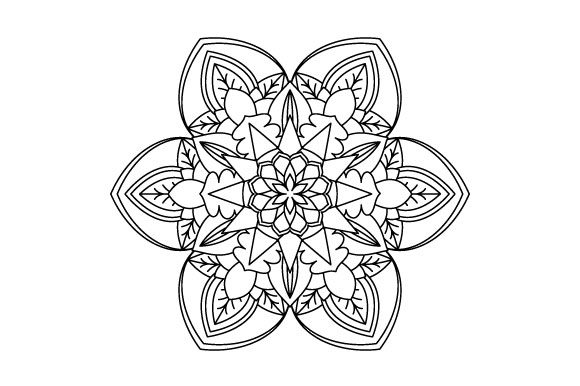 Print on Demand: 30 Mandala Coloring Pages Vector Bundle Graphic Coloring Pages & Books Adults By GraphicsFarm - Image 18
