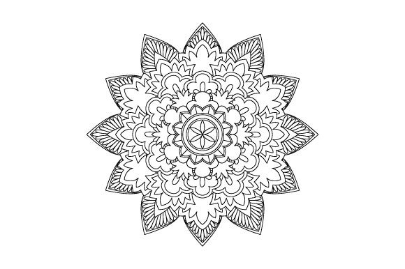 Print on Demand: 30 Mandala Coloring Pages Vector Bundle Graphic Coloring Pages & Books Adults By GraphicsFarm - Image 19