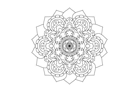 Print on Demand: 30 Mandala Coloring Pages Vector Bundle Graphic Coloring Pages & Books Adults By GraphicsFarm - Image 2