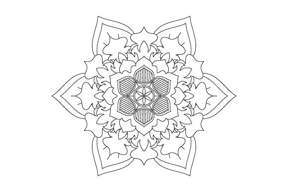 Print on Demand: 30 Mandala Coloring Pages Vector Bundle Graphic Coloring Pages & Books Adults By GraphicsFarm - Image 3