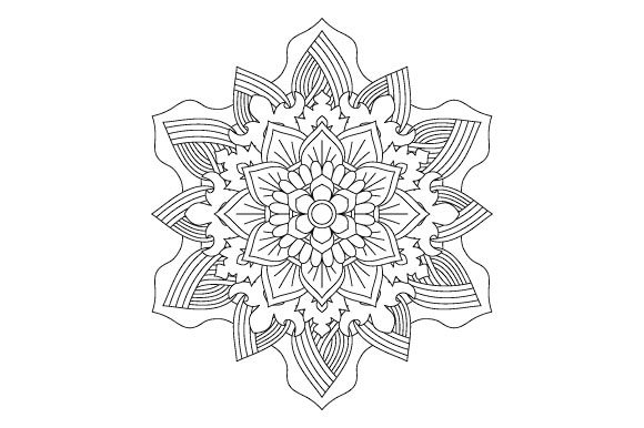 Print on Demand: 30 Mandala Coloring Pages Vector Bundle Graphic Coloring Pages & Books Adults By GraphicsFarm - Image 4