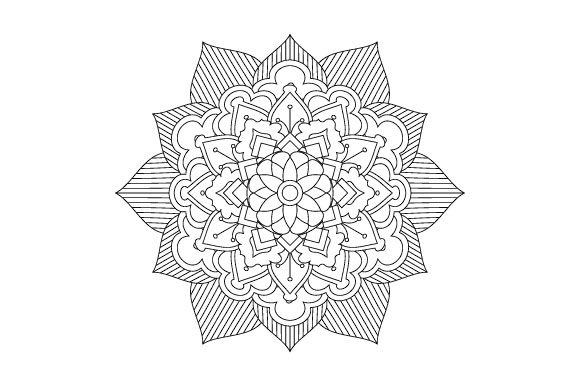 Print on Demand: 30 Mandala Coloring Pages Vector Bundle Graphic Coloring Pages & Books Adults By GraphicsFarm - Image 5