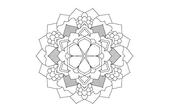 Print on Demand: 30 Mandala Coloring Pages Vector Bundle Graphic Coloring Pages & Books Adults By GraphicsFarm - Image 7