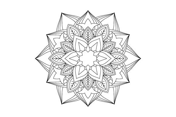 Print on Demand: 30 Mandala Coloring Pages Vector Bundle Graphic Coloring Pages & Books Adults By GraphicsFarm - Image 9