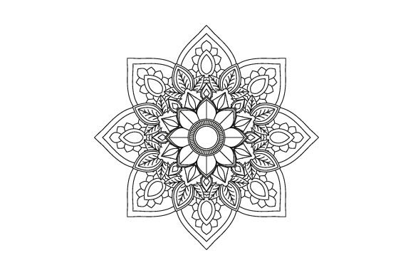 Print on Demand: 30 Mandala Coloring Pages Vector Bundle Graphic Coloring Pages & Books Adults By GraphicsFarm - Image 10