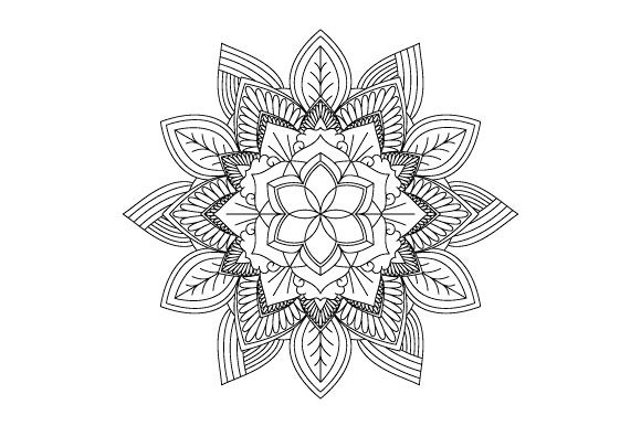 Print on Demand: 30 Mandala Coloring Pages Vector Bundle Graphic Coloring Pages & Books Adults By GraphicsFarm - Image 11