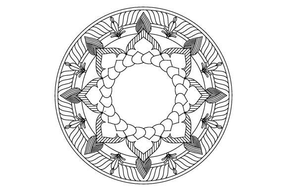 Print on Demand: 30 Mandala Coloring Pages Vector Bundle Graphic Coloring Pages & Books Adults By GraphicsFarm - Image 12