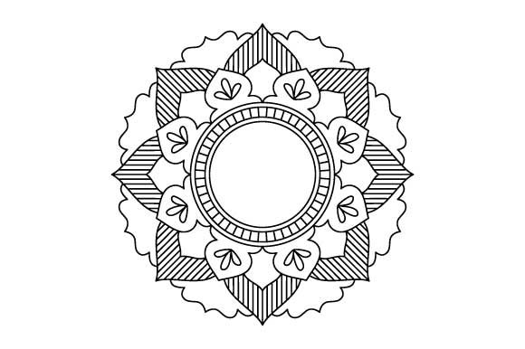 Print on Demand: 30 Mandala Coloring Pages Vector Bundle Graphic Coloring Pages & Books Adults By GraphicsFarm - Image 13