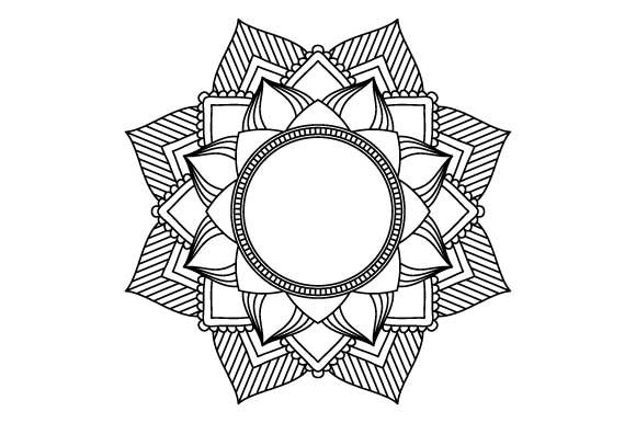 Print on Demand: 30 Mandala Coloring Pages Vector Bundle Graphic Coloring Pages & Books Adults By GraphicsFarm - Image 15