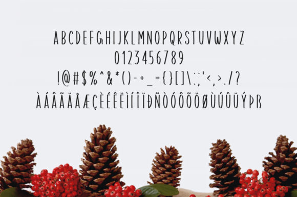Print on Demand: Merry Christmas Display Font By FontEden - Image 4