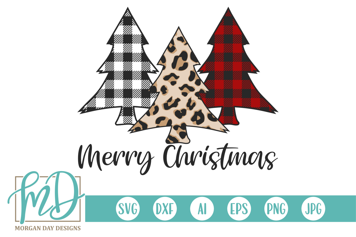 Merry Christmas Graphic By Morgan Day Designs Creative Fabrica