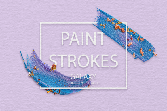 Galaxy Strokes Graphic Arts & Entertainment By FaeryDesign