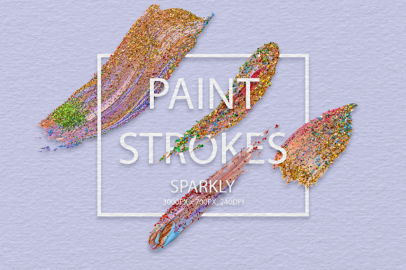 Sparkly Strokes Graphic Arts & Entertainment By FaeryDesign