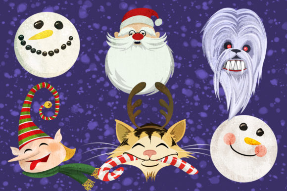 Ugly Christmas Sweaters Graphics Graphic Illustrations By Dapper Dudell - Image 3